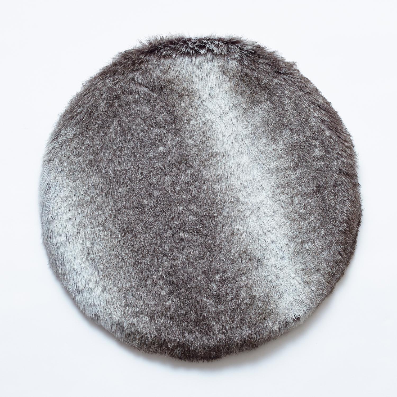 fabrico/チェアパッド wolf silver