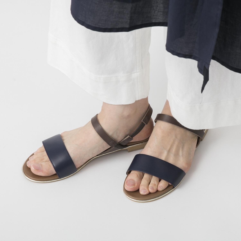 shoesbakery/ダブルベルトサンダル