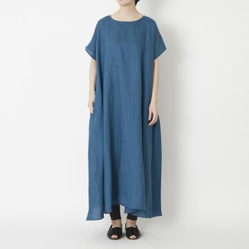 TUTIE./リネンの半袖ワンピース
